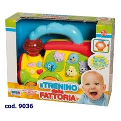Jucarie pentru bebelus locomotiva