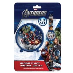 Set ceas desteptator si ceas de mana Avengers
