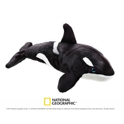 Jucarie din plus National Geographic Orca 40 cm