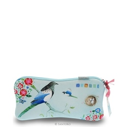 Pouch Eclectic Watercolour Birds
