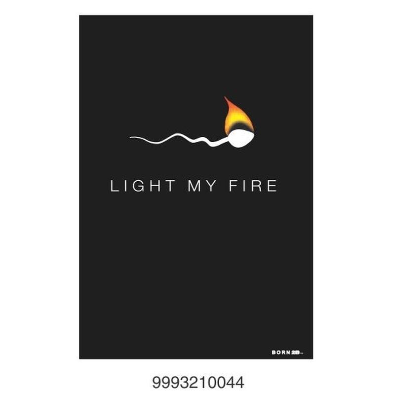 Felicitari BORN 2B - Light my fire