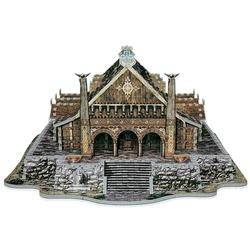 Puzzle 3D Sala de aur din Edoras