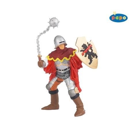 Figurina Papo-Cavaler cu ghioaga (rosu)