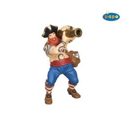 Figurina Papo - Pirat cu tun