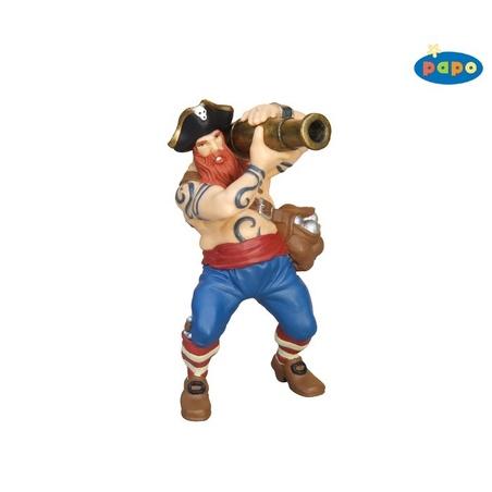 Figurina Papo-Pirat cu tun