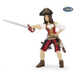 Figurina Papo Pirat femeie bruneta