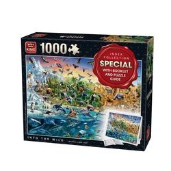 Puzzle 1000 piese Animalele planetei