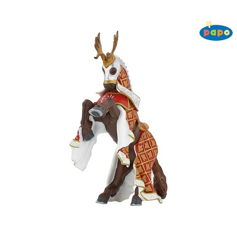 Figurina Papo - Calul cavalerului cerb