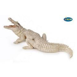 Crocodil alb - Figurina Papo
