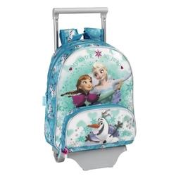 Ghiozdan tip rucsac cu troler junior colectia Frozen Ice Disney