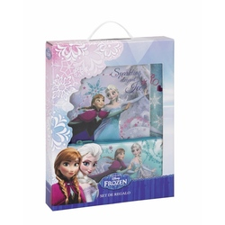Set cadou scoala Frozen Disney Sparkling Elegant Ice