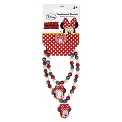 Set bratara colier inel Minnie Mouse