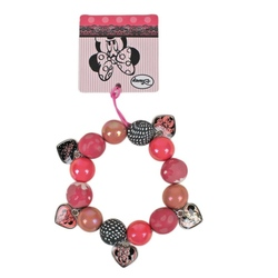 Bratara margele Disney Minnie Mouse
