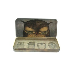 Eclectic Penar metalic - Grumpy Owl