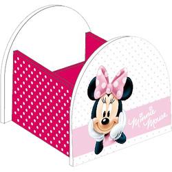 Suport mare din lemn roz Minnie Mouse