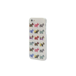 Husa rigida iPhone 5/5S Eclectic Scottie Dogs