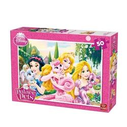 Puzzle 50 piese Disney Palace pets