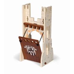 Papo Poarta mobil din lemn pentru castel