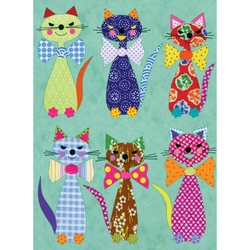 Felicitare Eclectic- Selection Cats