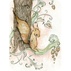 Felicitare Eclectic-The Squirrel
