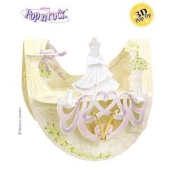 Felicitare 3D Popnrock- Rochie de Mireasa