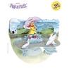 Felicitare 3D Popnrock-Fetita cu umbrela
