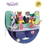 Felicitare 3D Popnrock-Pisicute cu fundite