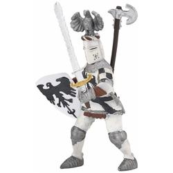 Figurina Papo - Cavaler cu pene alb