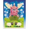 Felicitare 3D Porcii pot zbura-Swing Cards