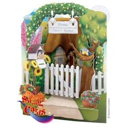 Felicitare 3D Casa dulce casa-Swing Cards
