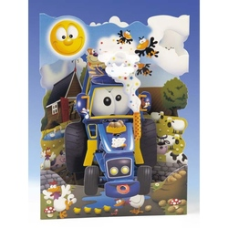 Felicitare 3D Tractor-Swing Cards