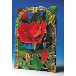 Felicitare 3D Trandafir-Swing Cards