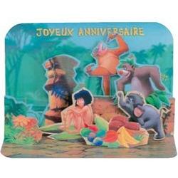 Felicitare 3D Cartea junglei Disney