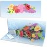 Felicitare Buchet de flori-3D Panoramics