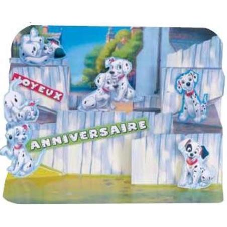 Felicitare 101 Dalmatieni-3D Disney