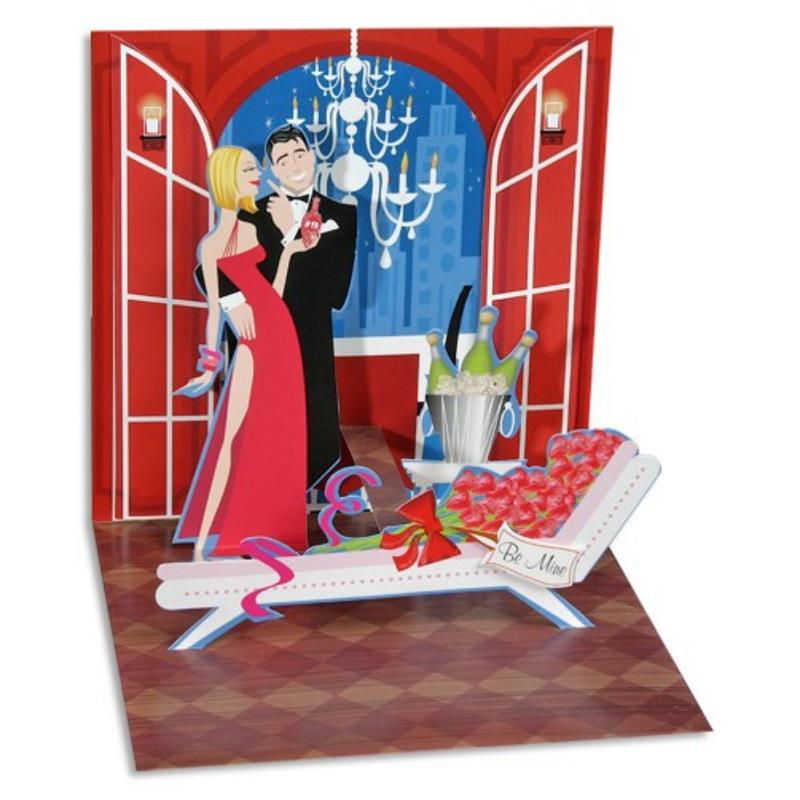 Felicitare 3D Treasure-Potiunea dragostei