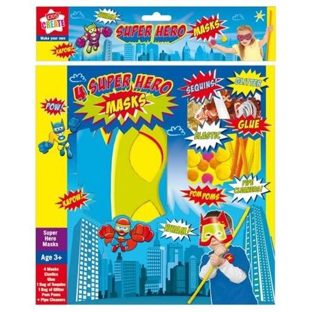 Kids Create-Creaza-ti super masca