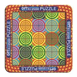Puzzle magnetic holografic - Iluzie optica cerculete