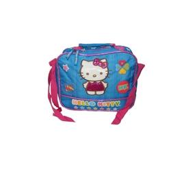 Gentuta albastra cu roz pentru pranz termoizolanta Hello Kitty
