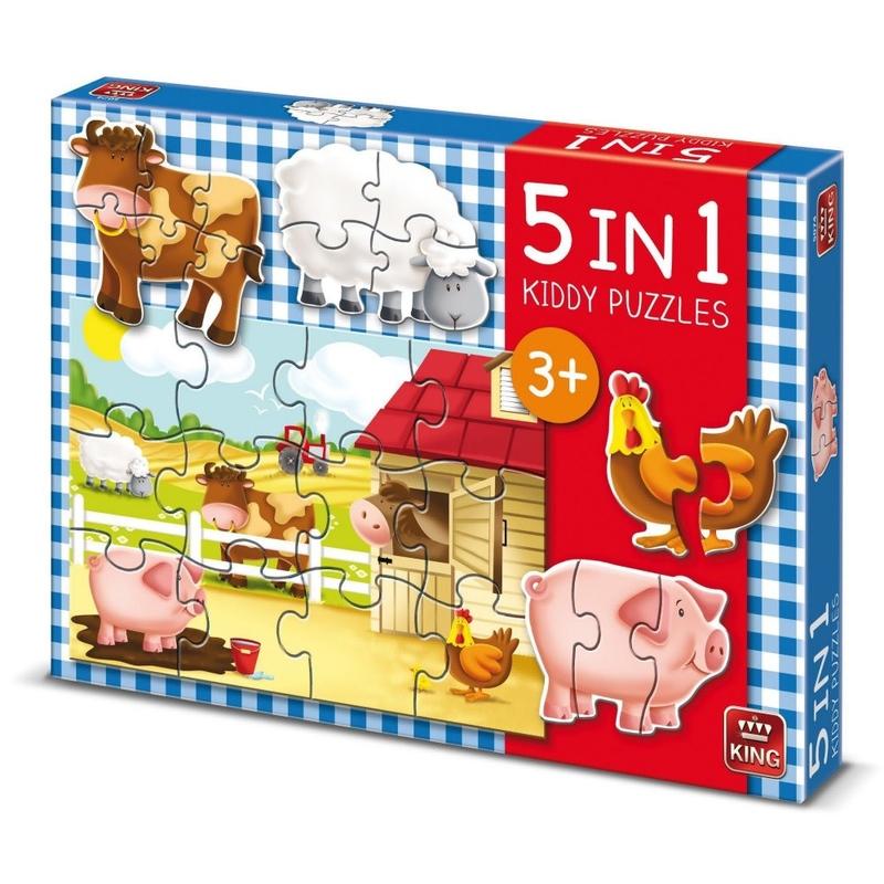 Puzzle 5 in 1 - Ferma