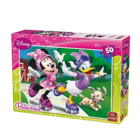 Puzzle Disney Minnie Mouse 50 piese