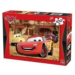 Puzzle rosu Disney Cars 100 piese