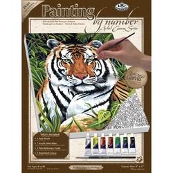 Pictura pe panza  - Tigru