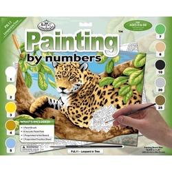 "Pictura pe numere juniori - ""Leopard"""
