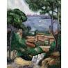 Set pictura pe panza - Vila pe coasta (L'Estaque a villa)