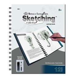 Carte schita in creion 24 file Safari