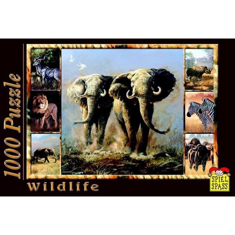Puzzle Wildlife Elefant 1000 piese