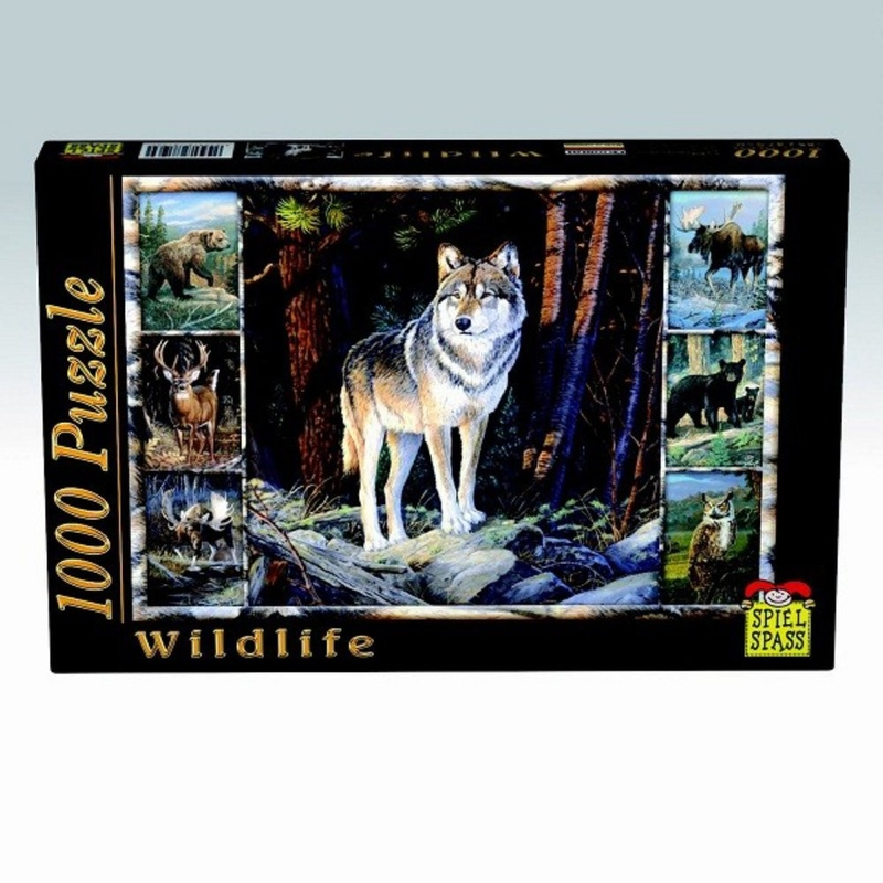 Puzzle Wildlife Lup 1000 piese