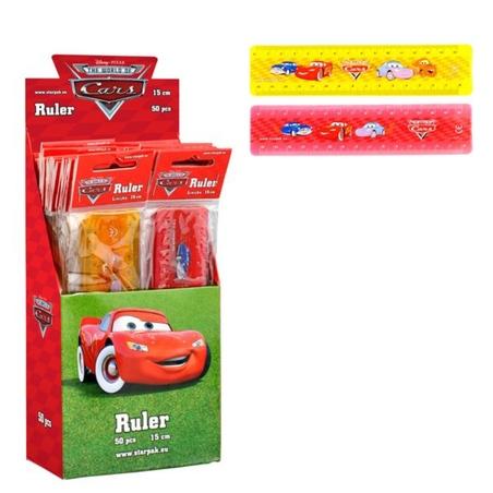 Rigla 15 cm Cars Disney