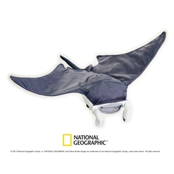 Jucarie din plus National Geographic Pisica de mare 40 cm